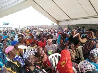 Côte d'Ivoire : Bouaké, à quelques heures de la présidentielle, des milliers de femmes mobilisées pour ADO