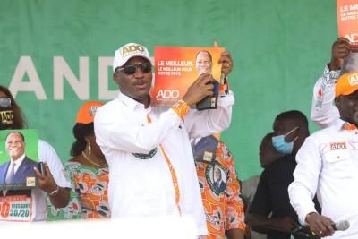 Côte d'Ivoire : Depuis Daloa, Mamadou Touré : « Alassane  Ouattara ne fera pas moins de 95%. C'est un engagement que nous prenons.»