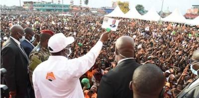 Côte d'Ivoire : J-2 du vote présidentielle, douche froide à Yopougon et marée humaine...