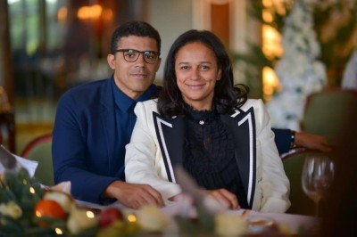 Angola : Isabel Dos Santos perd son mari Sindika Dokolo
