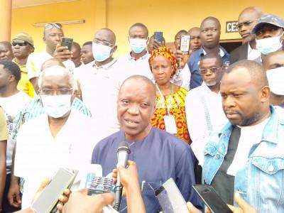 Côte d'Ivoire : Bouaké, partis accomplir leur devoir civique, les électeurs prennent...