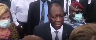 Côte d'Ivoire : Agacé par cette affaire de 3eme mandat, Alassane Ouattara recadre des journalistes européens après son vote
