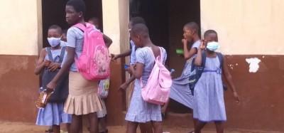 Togo :  Rentrée scolaire 2020-2021 entre précautions et défis