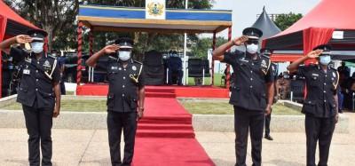 Ghana :  Présidentielle 2020, rapport d'enquête pré-électorale, 62 794 agents de sécurité à déployer