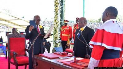Tanzanie : Après sa victoire écrasante, John Magufuli prête serment pour un mandat de 5 ans