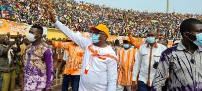 Burkina Faso : Présidentielle, le président Kaboré lance sa campagne en grande pompe à Bobo-Dioulasso