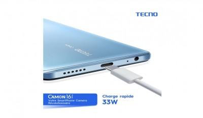 Côte d'Ivoire : Série Tecno CAMON 16 : Super vidéo mode 4K, stabilisateur pro et charge rapide