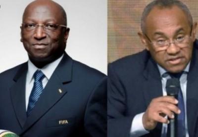 Côte d'Ivoire : Après l'annonce de sa Candidature  à la présidence de la CAF, Anouma accusé  de trahison par le camp Ahmad, sa réaction