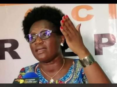Côte d'Ivoire : Alors qu'elle devait être auditionnée ce jour, Pulchérie Gbalet finalement devant le juge le mercredi prochain la réaction de son avocat