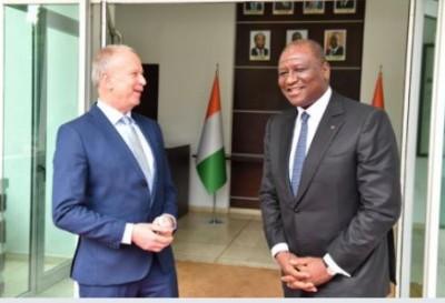 Côte d'Ivoire : Le nouvel ambassadeur de l'Allemagne attaché au   respect du cadre constitutionnel à l'Etat de droit