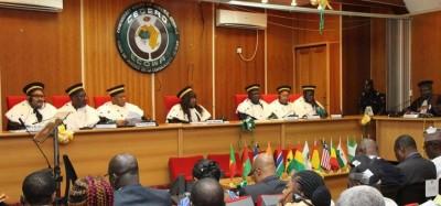Cedeao :  La Cour de justice ordonne au Nigeria de payer 20 millions de Naira à deux nigérians