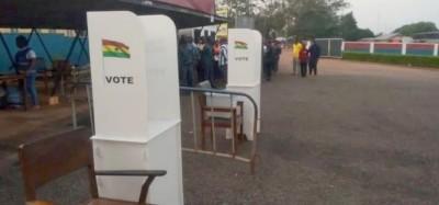 Ghana : Présidentielle le 07 décembre, résultats promis en 24 heures