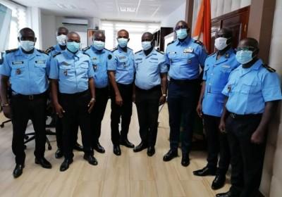 Côte d'Ivoire : Huit nouveaux fonctionnaires de police déployés au sein de la MINUSCA en Centrafrique