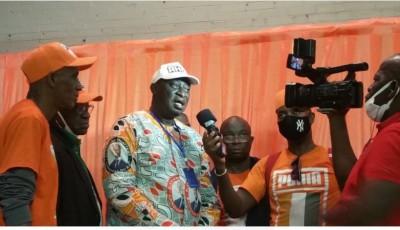 Côte d'Ivoire : Les militants  RHDP-USA célèbrent  la victoire d'Alassane  Ouattara à New York et Philadelphie