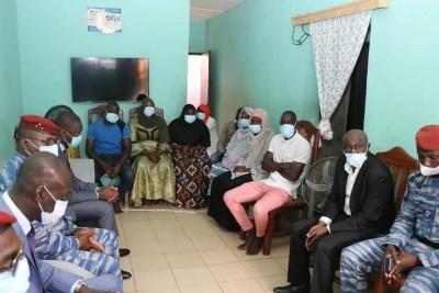 Côte d'Ivoire : Assassinat de l'adjudant Sanogo, le Ministre Moussa Sanogo et le Général Apalo aux côtés de la famille du défunt