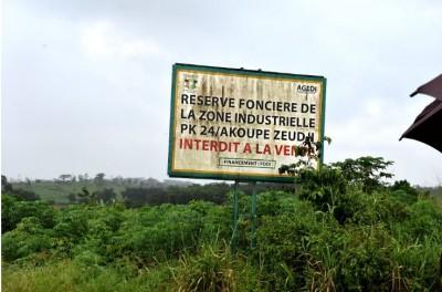 Côte d'Ivoire : Zone industrielle d'Akoupé-Zeudji, 100 000 emplois prévus  d'ici à 2025