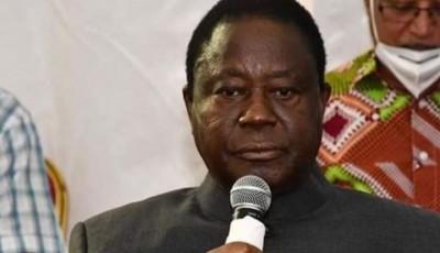 Côte d'Ivoire : Pour la reprise du dialogue politique, Bédié dit attendre de nouvelles preuves de « franchise et de sincérité » du camp adverse