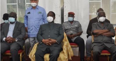 Côte d'Ivoire : Bédié devant les chefs des régions du Gôh, Loh Djiboua et Sassandra:...