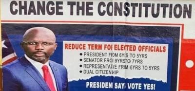 Liberia :  Clarification sur le maintien du référendum, appel à voter OUI