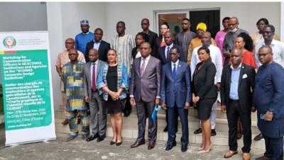 Côte d'Ivoire : Depuis Abidjan, la CEDEAO vulgarise sa charte graphique validée à Abu...