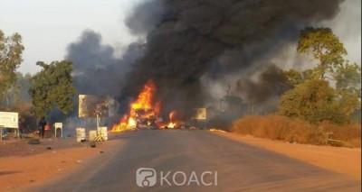 Burkina Faso : Six morts et 14 blessés dans un accident suivi d'une explosion