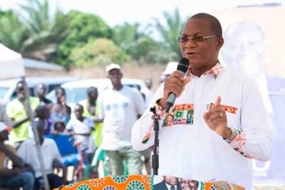 Côte d'Ivoire : Depuis Boundiali, Bruno Koné à l'opposition « ils ont tout fait pour...