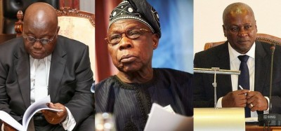 Nigeria-Ghana :  Lettre d'Obasanjo aux « deux partis géants » du Ghana avant les élec...