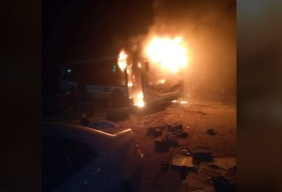Côte d'Ivoire : Yopougon, au moins quatre véhicules incendiés par des individus à Nia...