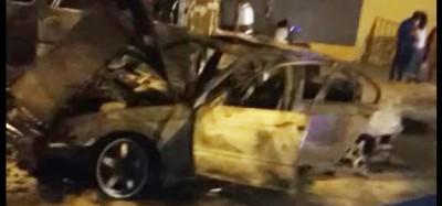 Côte d'Ivoire :   Incendie de véhicules à Yopougon, une victime affirme que les agres...