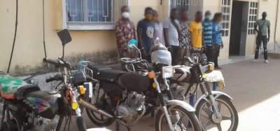 Togo : Neuf braqueurs nigérians opérant à Abidjan, Lagos et Lomé arrêtés