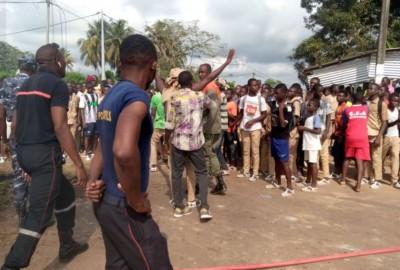 Côte d'Ivoire : Evènements de Sassandra, la FESCI dénonce un abus de pouvoir et appel...