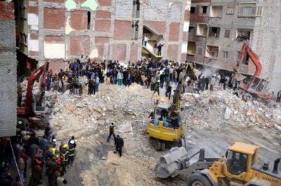 Egypte : Un immeuble vétuste s'écroule à Alexandrie,au moins trois morts