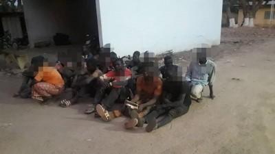 Côte d'Ivoire : Orpaillage clandestin, à Kong, 17 personnes interpellées sur plusieur...