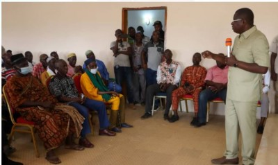Côte d'Ivoire : En tournée de remerciement depuis Hiré, Amédé Kouakou martèle : « C'e...