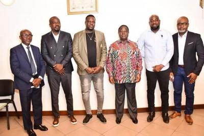 Côte d'Ivoire : Abidjan, Yodé et Siro chez Bédié pour lui dire merci, expriment leur...