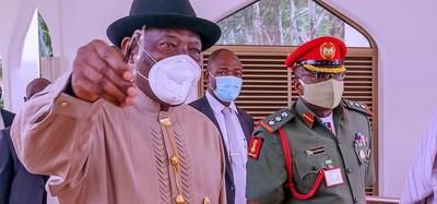 Nigeria :  Goodluck Jonathan indécis pour la présidentielle 2023