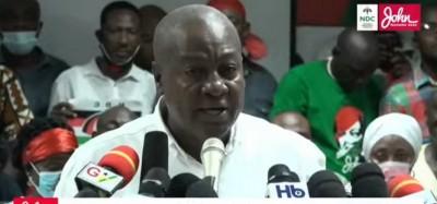 Ghana :  Vers un contentieux électoral, Mahama rejette la victoire d'Akufo-Addo, résultats des législatives sans majorité