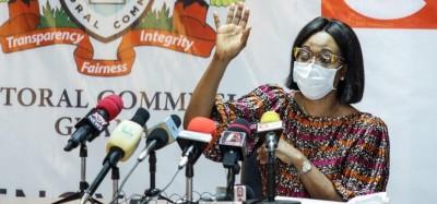 Ghana :  La présidente de la CE n'a pas franchi les frontières du pays