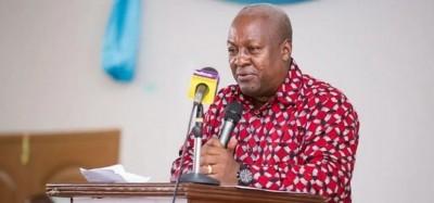 Ghana :  Condition de Mahama pour accepter les résultats de la présidentielle