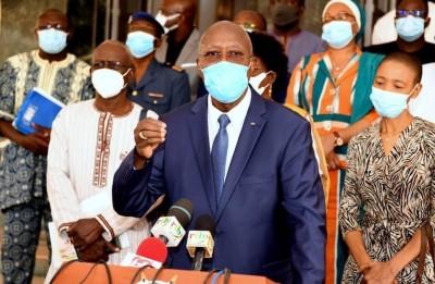 Burkina Faso : coronavirus, 2 nouveaux décès, le premier ministre dénonce un relâchement des mesures barrières