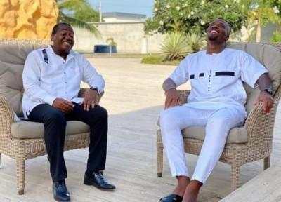 Côte d'Ivoire : Election à la FIF, Eugène Diomandé lâche Didier Drogba