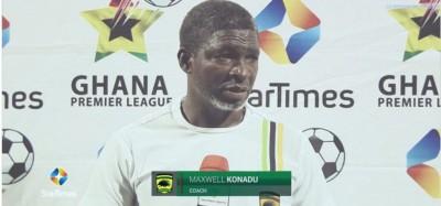 Ghana :  Football, Asante Kotoko éjecte l'entraineur Maxwell Konadu sur un résultat