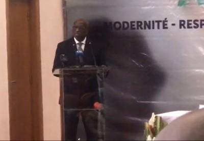 Côte d'Ivoire : CAF, Anouma présente officiellement  sa candidature  et affirme : « J'ai un projet de développement innovant »
