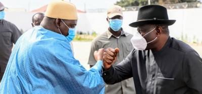 Gambie :  Goodluck sollicité pour dénouer l'impasse sur la révision constitutionnelle