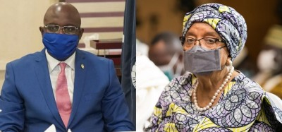 Liberia: Weah riposte contre un message de Sirleaf