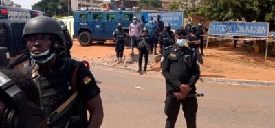 Ghana:  Marche des députés du NDC bloquée aux portes de la CE, leur pétition