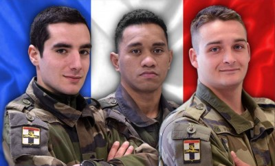 Mali : Trois soldats français tués par un engin explosif près de la frontière Burkinabé