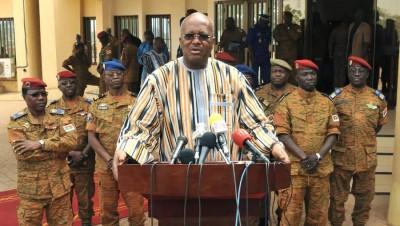 Burkina Faso : Dissolution du gouvernement par le président du Faso