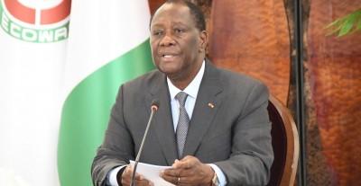 Côte d'Ivoire : Premier conseil 2021, Alassane Ouattra exhorte ses ministres à plus d'humilité