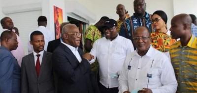 Côte d'Ivoire : En en visite de compassion chez Affi, Georges-Armand Ouegnin espère voir l'opposition unie pour affronter les législatives